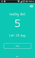 Screenshot of Daily Habit Lite