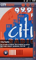 Screenshot of City Radio