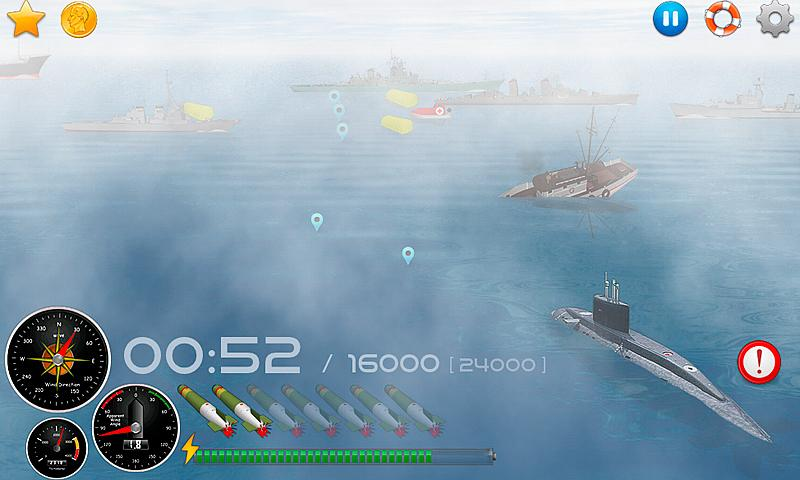 Silent Submarine Career Screenshot 1