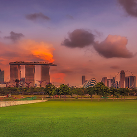 Good Afternoon Singapore.. by Photographyof Jack Jack - City,  Street & Park  City Parks