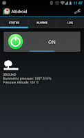 Screenshot of Altidroid