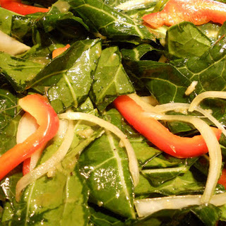 Collard Greens And Red Bell Pepper Recipes