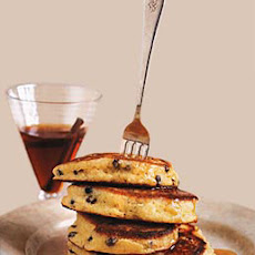 Cornmeal and Currant Griddlecakes with Apple-Cinnamon Syrup