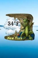 Screenshot of Dragon Weather Widget