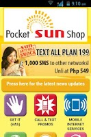 Screenshot of Pocket  Sun Shop