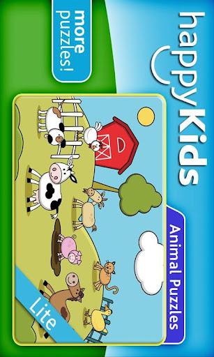 happyKids Animal PUZZLES-LITE