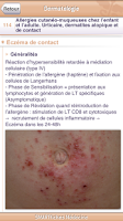 Screenshot of SMARTfiches Dermatologie Free