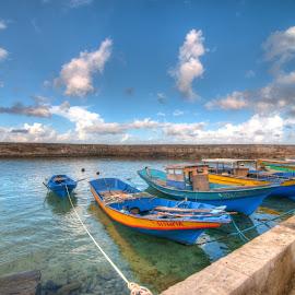 by Victor Roman - Transportation Boats ( boats, d300, pier, batanes, nikon )