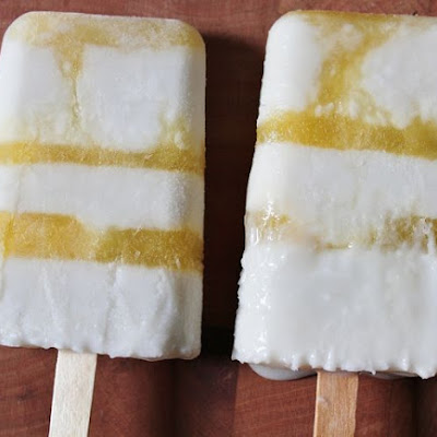 Coconut Mango Ice Pops