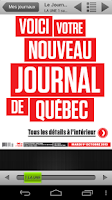 Screenshot of Journal de Québec - éditionE