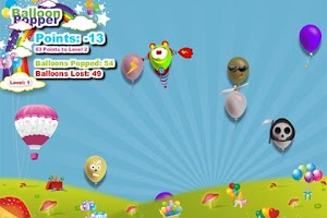 Screenshot of Balloon Popper
