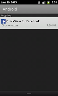 QuickView PopUp for Facebook - screenshot