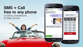 Screenshot of Pinger UK Free Texts + Calls