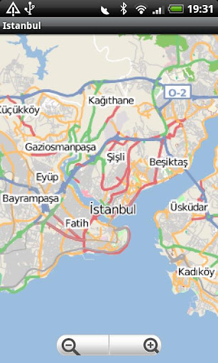 Istanbul Street Map