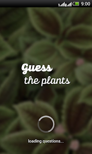 Guess the plants - screenshot