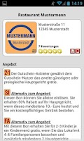 Screenshot of Mobile-Gutscheine.de