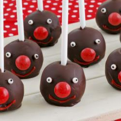 Red Nose Day chocolate pops