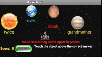 Screenshot of Rocket Word