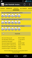 Screenshot of Lotto Statistik Deutschland