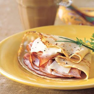 Ham and Gruyère Crepes