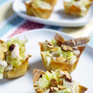 Asian Chicken Salad Cups