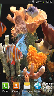 Aquarium Live Wallpaper HD - screenshot