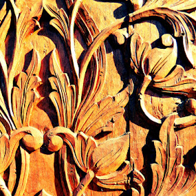 Pattern of Teak Wood, Elo, June 2011 by Diadjeng Laraswati H - Artistic Objects Antiques (  )