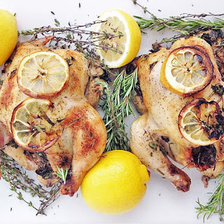 Lemon Herb Game Hens