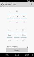 Screenshot of Shutdown Timer