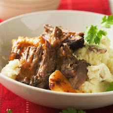 Pot Roast with Chipotle-Fruit Sauce
