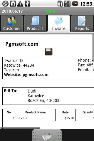 PGM-Invoice