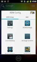 Screenshot of ADW.Launcher