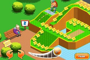 Screenshot of Mini Golf:Theme Park