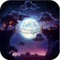 Starry Night Passage Wallpaper icon