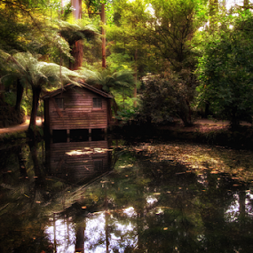 The Boathouse by Bevlea Ross - City,  Street & Park  City Parks