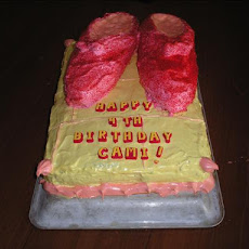 Cake - Dorothy's Ruby Slippers
