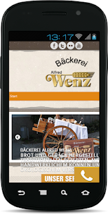 Bäckerei Wenz - screenshot