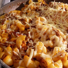 Bacon Cheeseburger Skillet Dinner