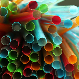 colourful straws by Almas Bavcic - Artistic Objects Other Objects