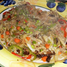 Buddhist Vegetable Noodles