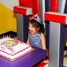 5th Birthday by Ray Welgosh - People Family ( birthday, girl, happy,  )