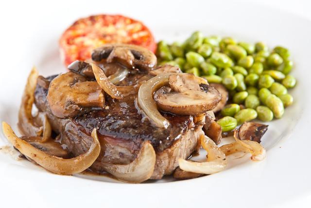 skinny salisbury steak with mushroom gravy country fried steak with ...