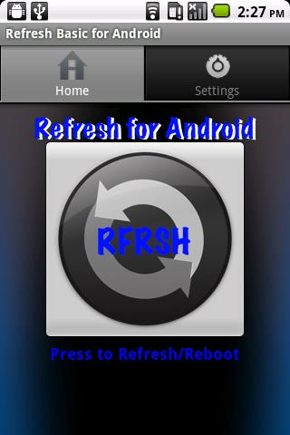 Refresh Basic for Android