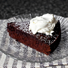 Red Wine Chocolate Cake with Whipped Mascarpone