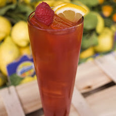 Raspberry and Earl Grey iced tea