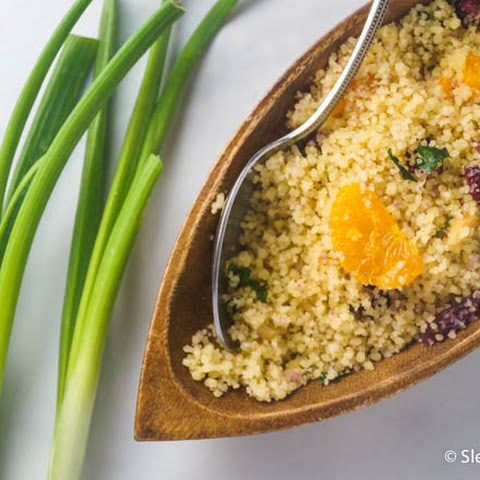 Cranberry Orange Couscous