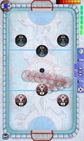 Screenshot of Finger Ice Hockey