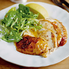 Baked Chicken with Cinnamon Butter Recipe