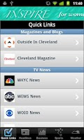 Screenshot of Cleveland Local News