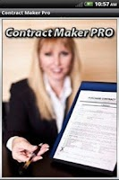 Screenshot of Contract Maker Pro Lite